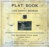 Title Page, Luce County 1955c